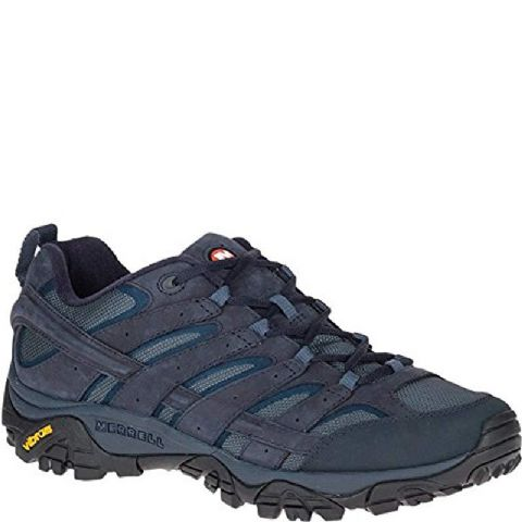 Merrell Mens MOAB 2 Smooth Gore-Tex Waterproof Shoe - Navy